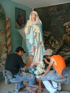 12 VIRGEN PURISIMA San Nicolas de Ibarra